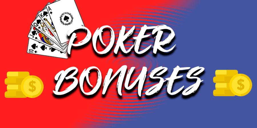 Бонусы для игры в кэш-покер